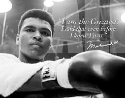 Muhammad Ali confidence quote