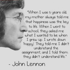 John Lennon Life Quote