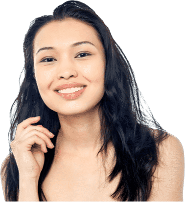 Young girl smiling - but there are many factors that affect self esteem