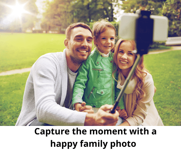 benefits of family photos for your child's self esteem - selfie