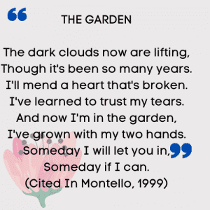 The Garden - a victim's poem